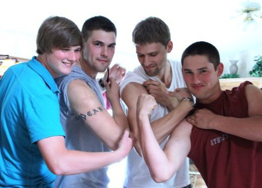 brother's muscles