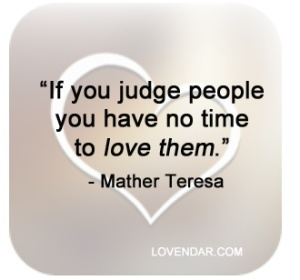 loving not judging