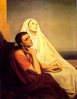 Augustine & his mother, Monica