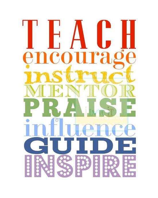 mentoring, inspiring