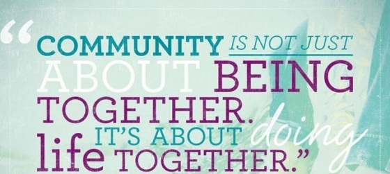 community doing life together