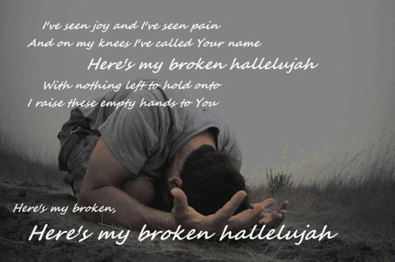 face down broken hallelujah