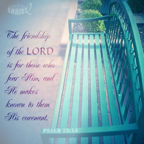 friendship of the Lord