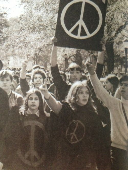 peace protestors
