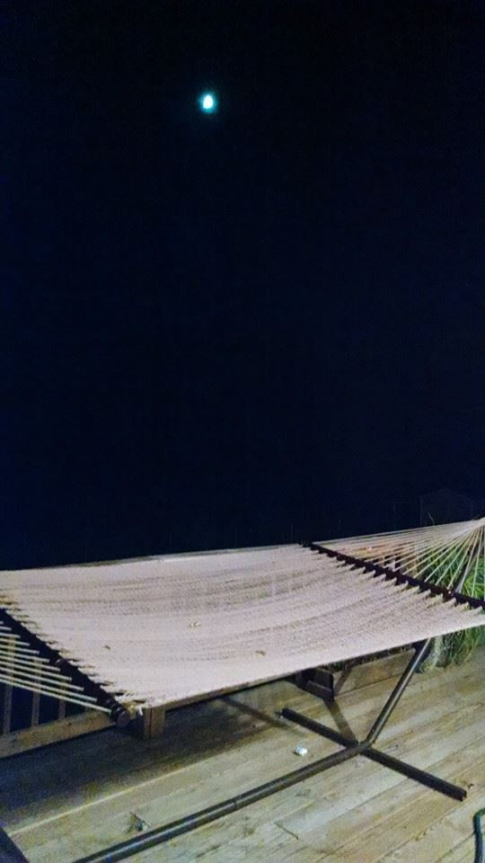 the hammock and the moon