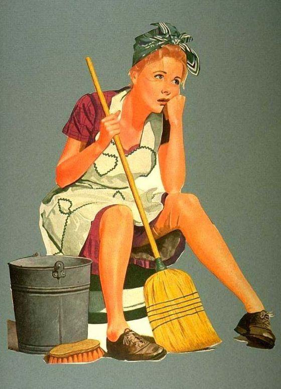 vintage chore pic