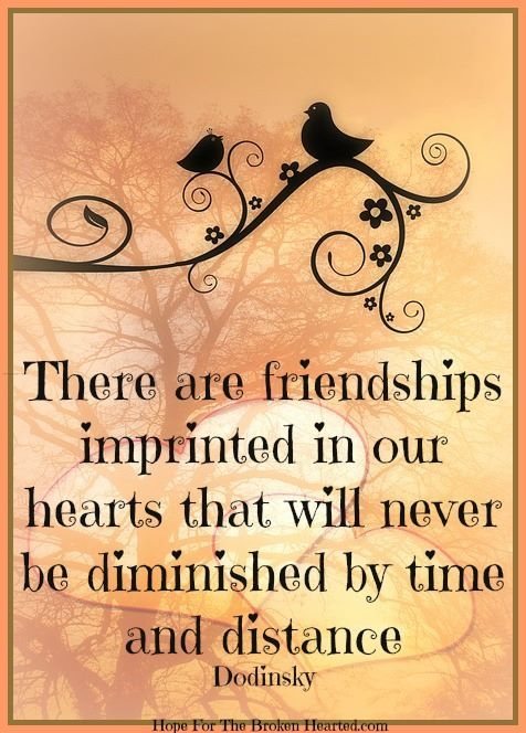 friendships imprinted