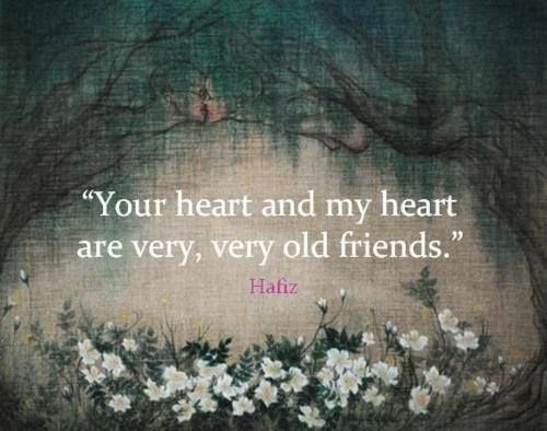 our hearts - old friends