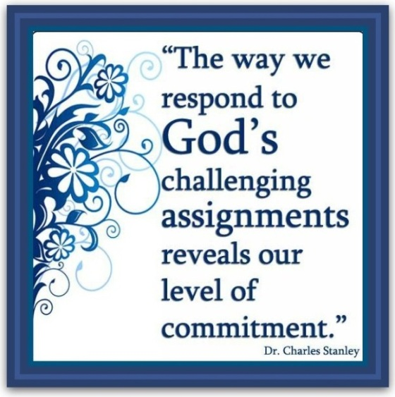 responding to God's challenges