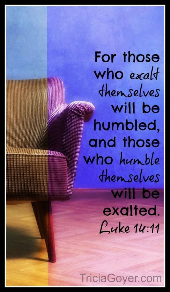 those who exalt themselves