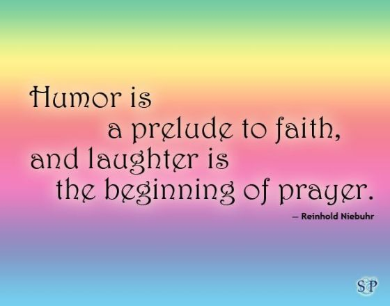 humor, faith, laughter, prayer