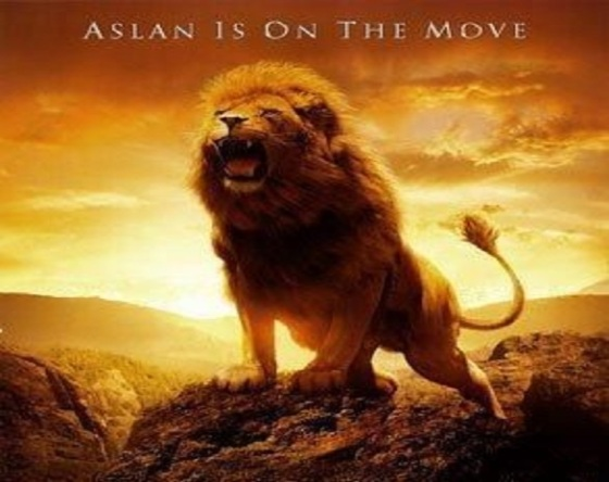 Aslan on the move